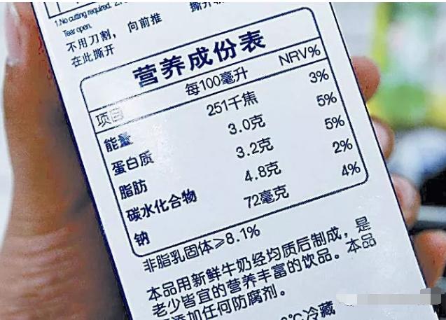 如何识别食品标签